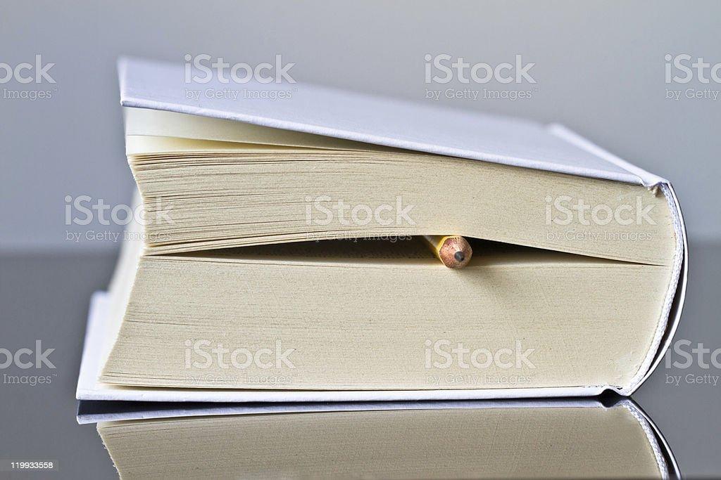 Um livro foto de stock royalty-free