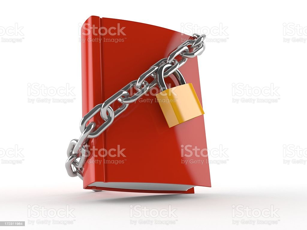 Book protection royalty-free stock photo