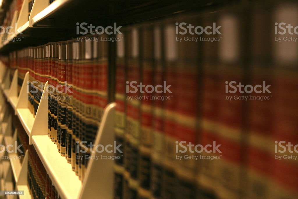 Book Racks 2 stock photo