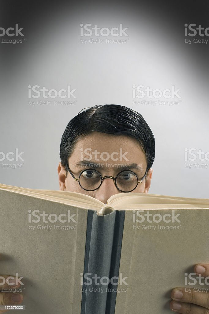book reader royalty-free stock photo