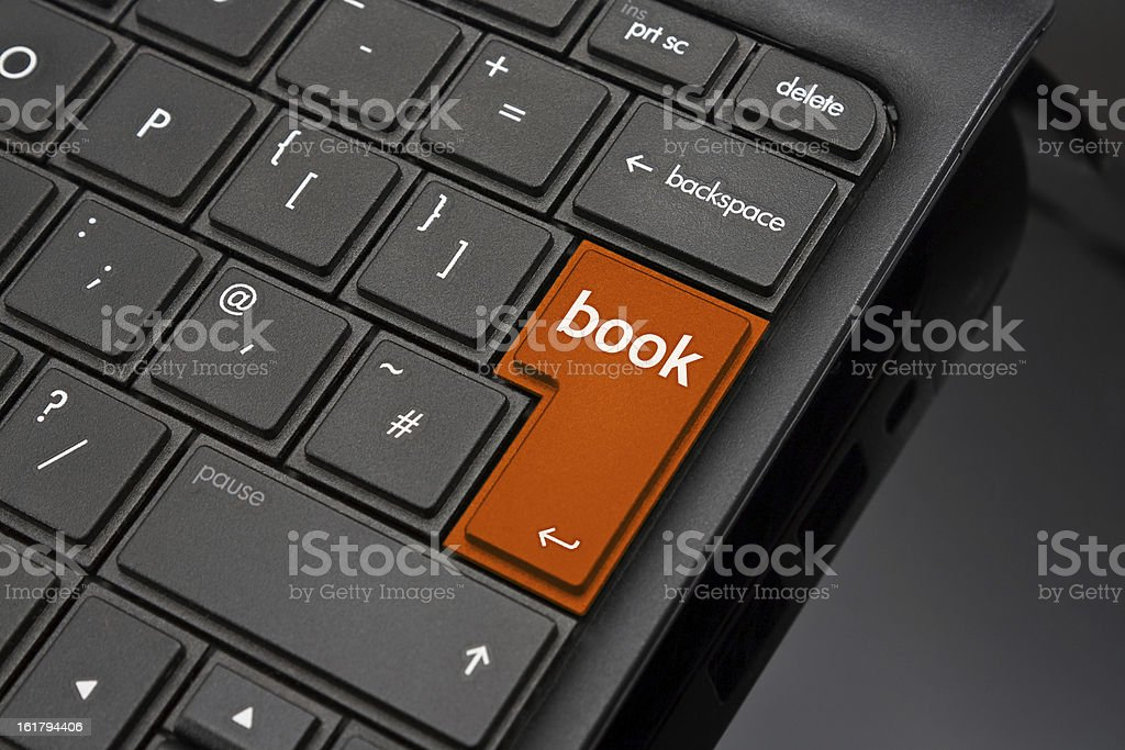 Book Return Key royalty-free stock photo