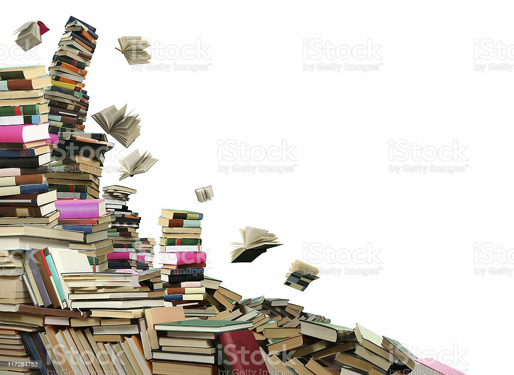 Book sellout royalty-free stock photo
