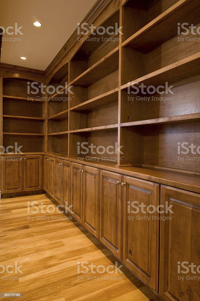 book shelves royalty-free stock photo