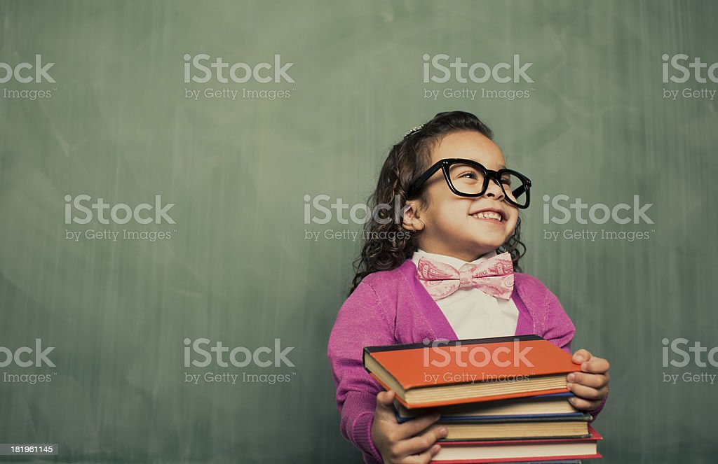 Book Smarts stock photo