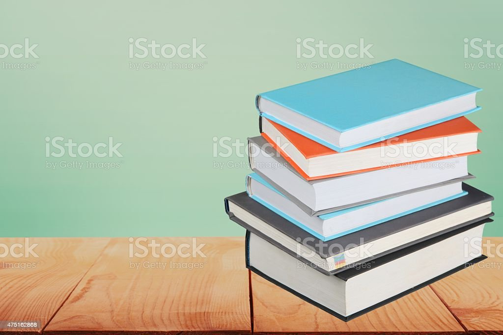 Book, Textbook, Stack stock photo