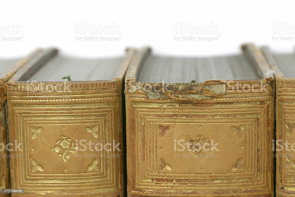 Book Tops stock photo