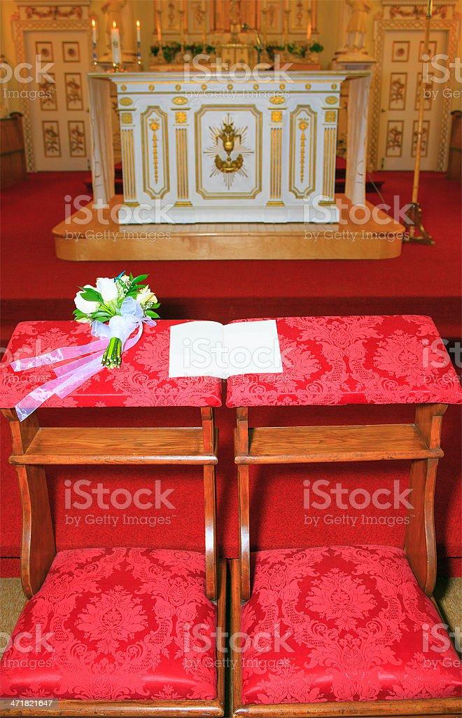 Book - Wedding Celebration Flowers stock photo