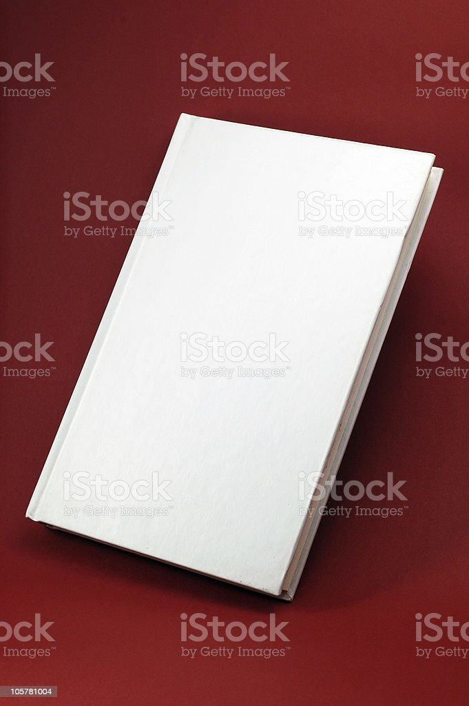 Book whit blank cover royalty-free stock photo