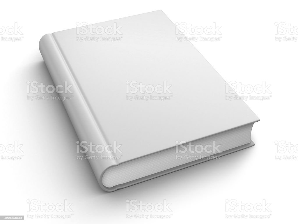 Book with empty cover royalty-free stock photo