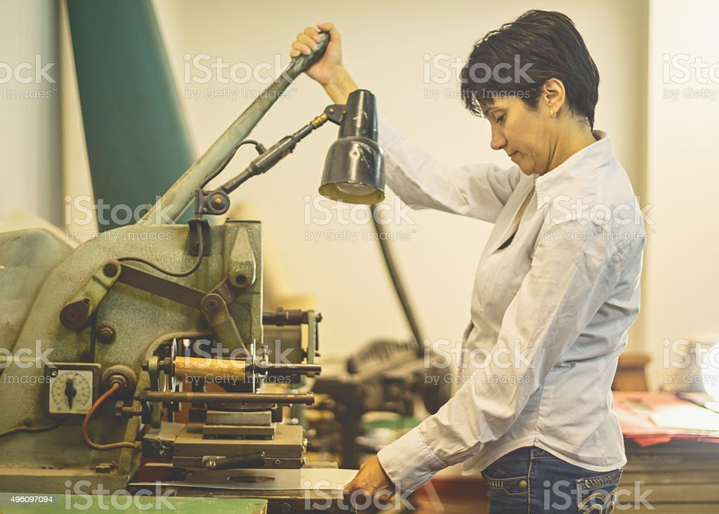 bookbinding stock photo