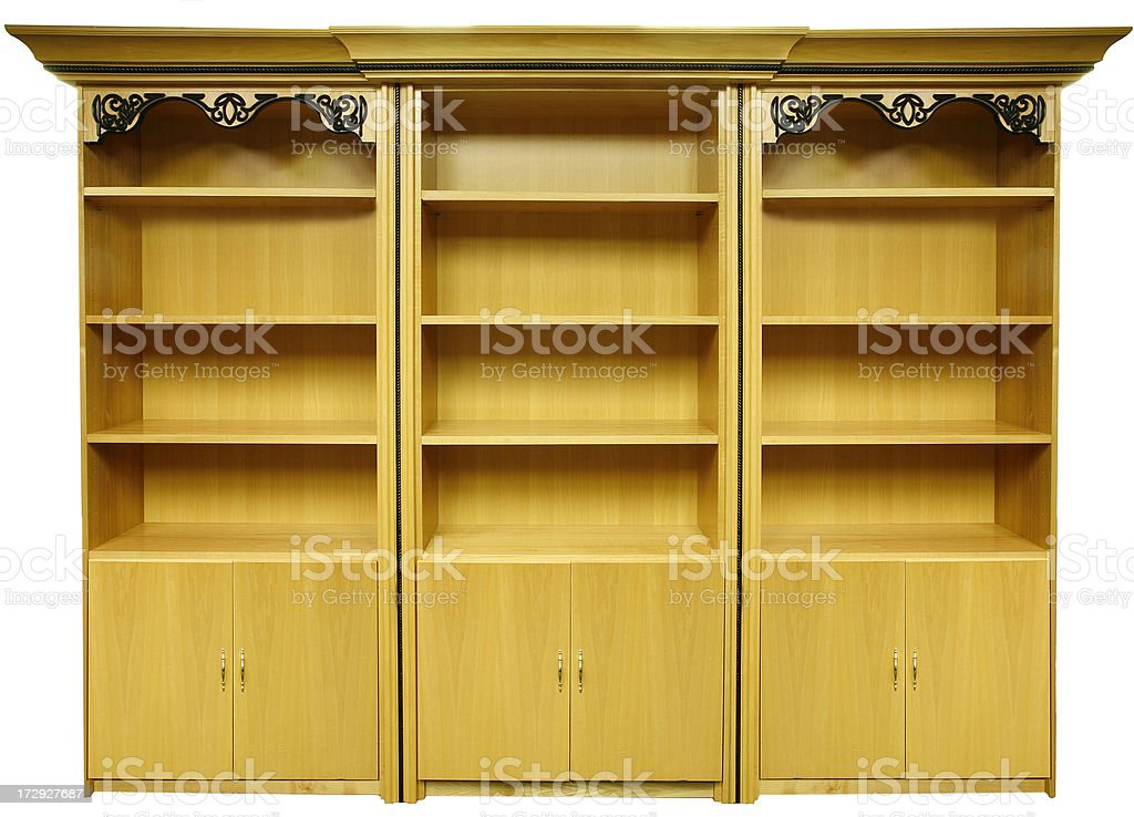 Bookcase royalty-free stock photo