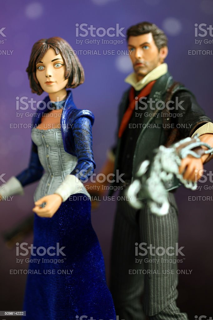 Booker and Elizabeth stock photo