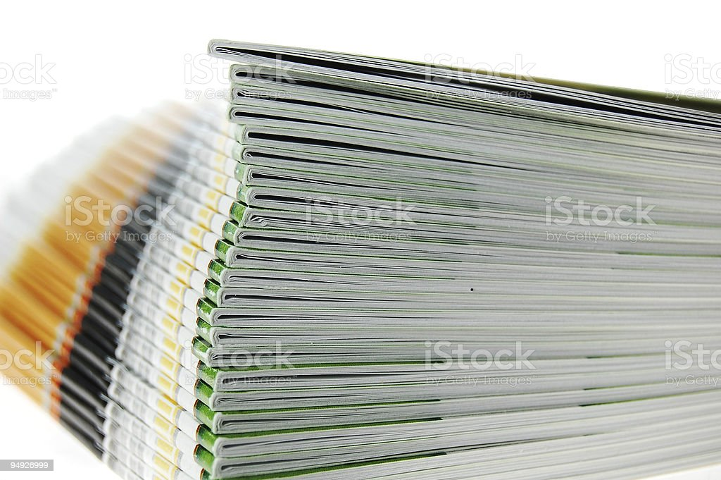 Booklets royalty-free stock photo
