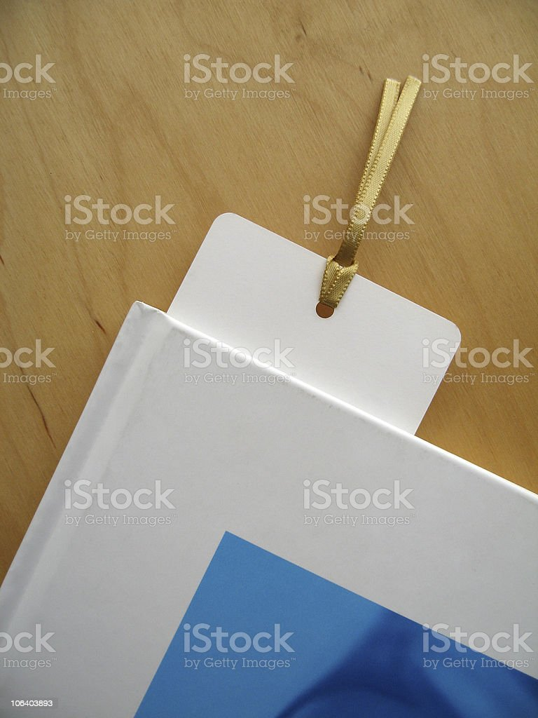 Bookmark royalty-free stock photo