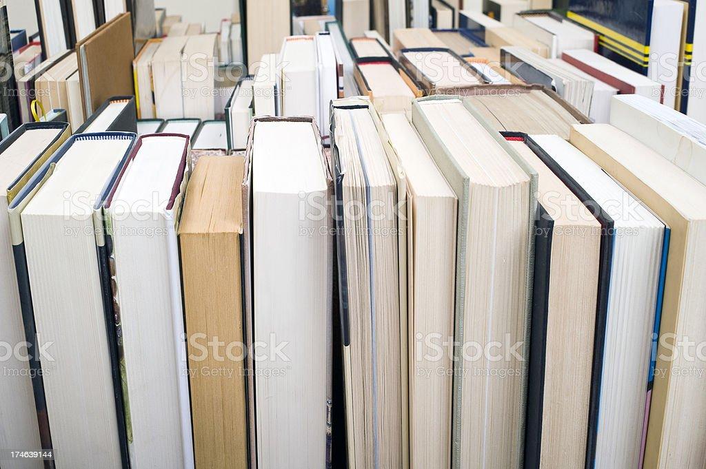 Bookmarket royalty-free stock photo