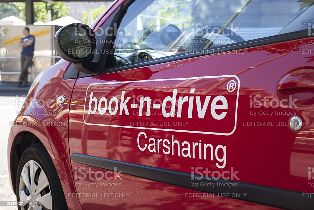 Book-n-Drive stock photo