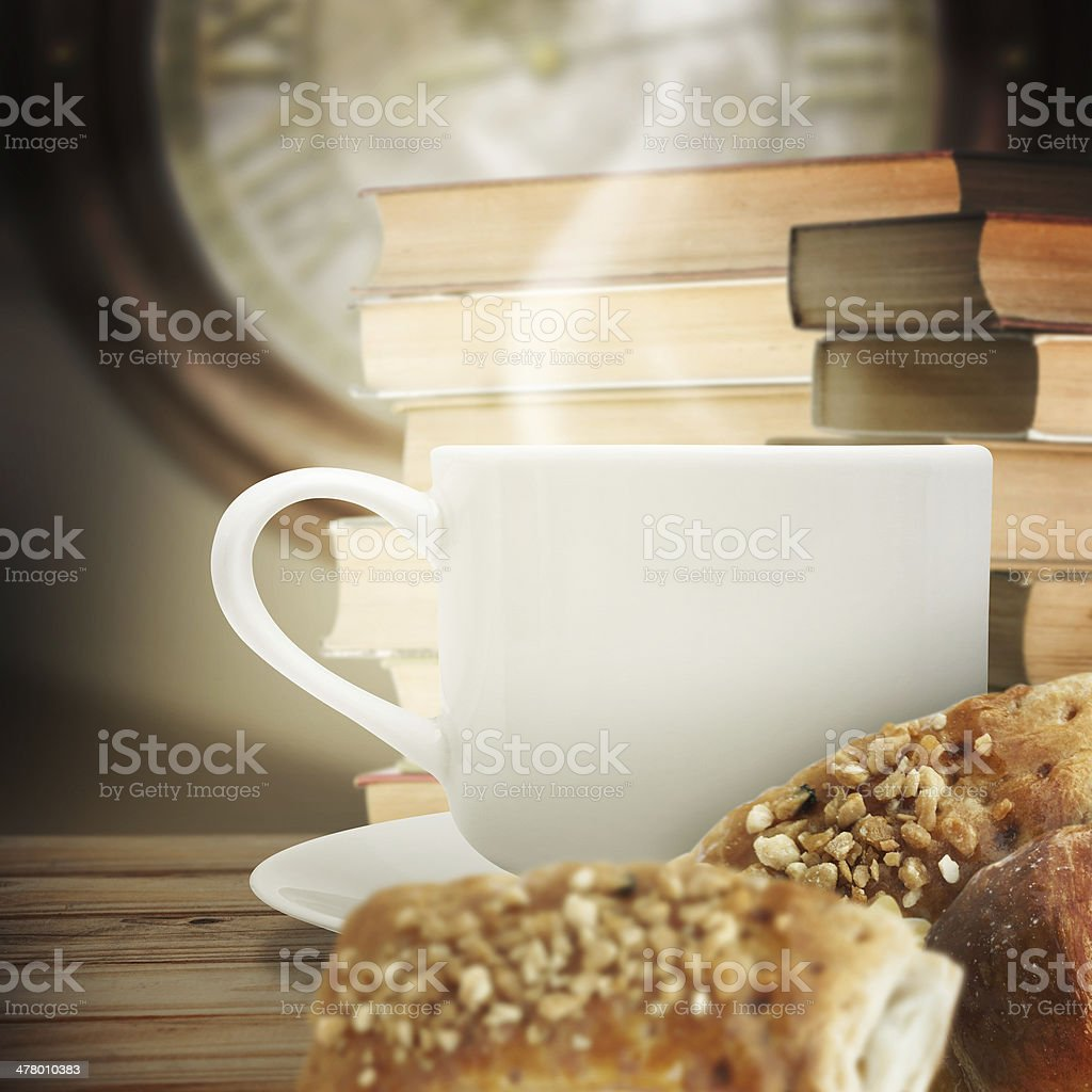 Books and flower royalty-free stock photo