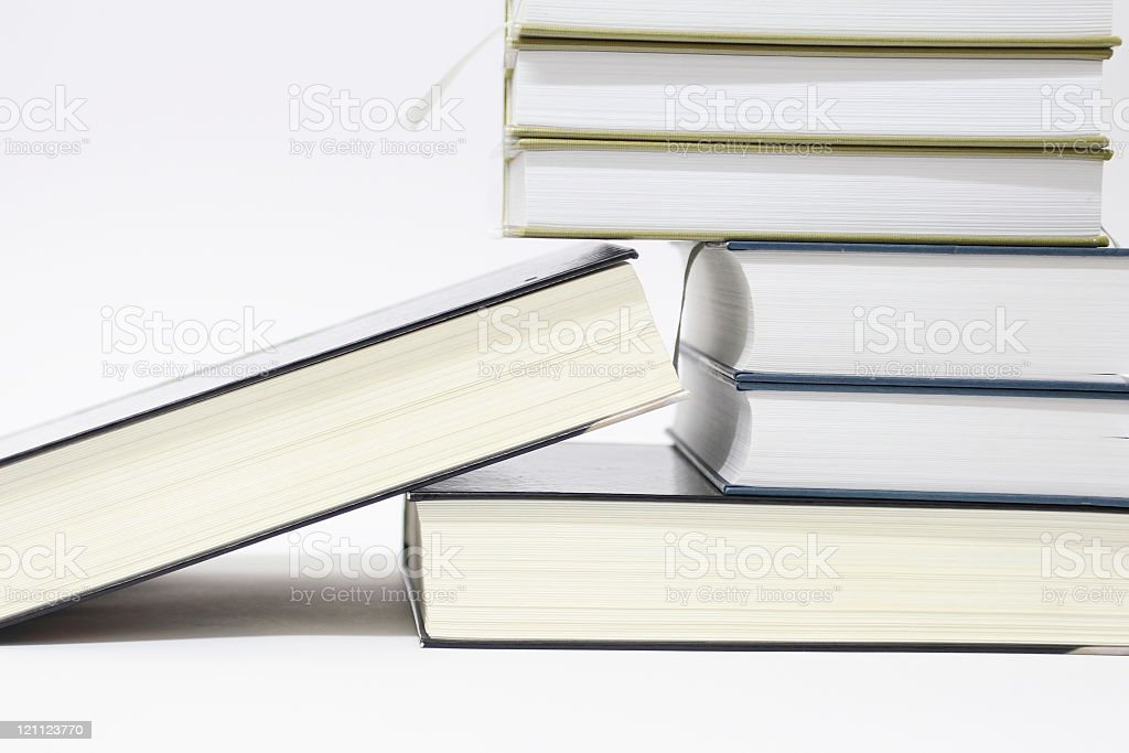 Books Arranged (2) royalty-free stock photo