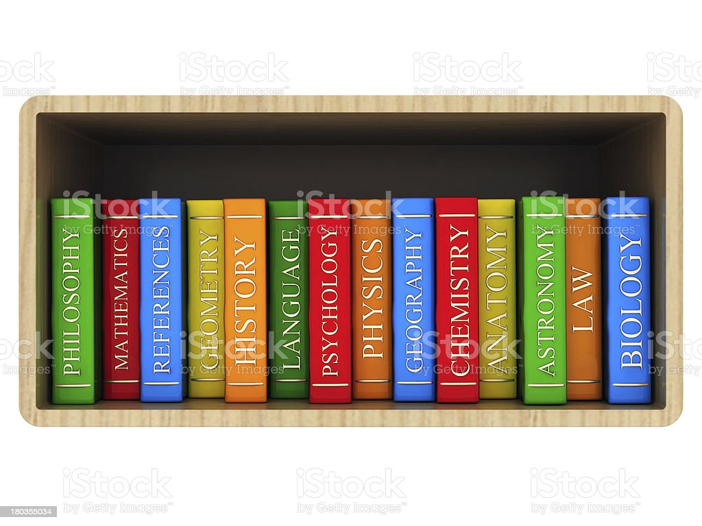 Books bindings and Literature royalty-free stock photo