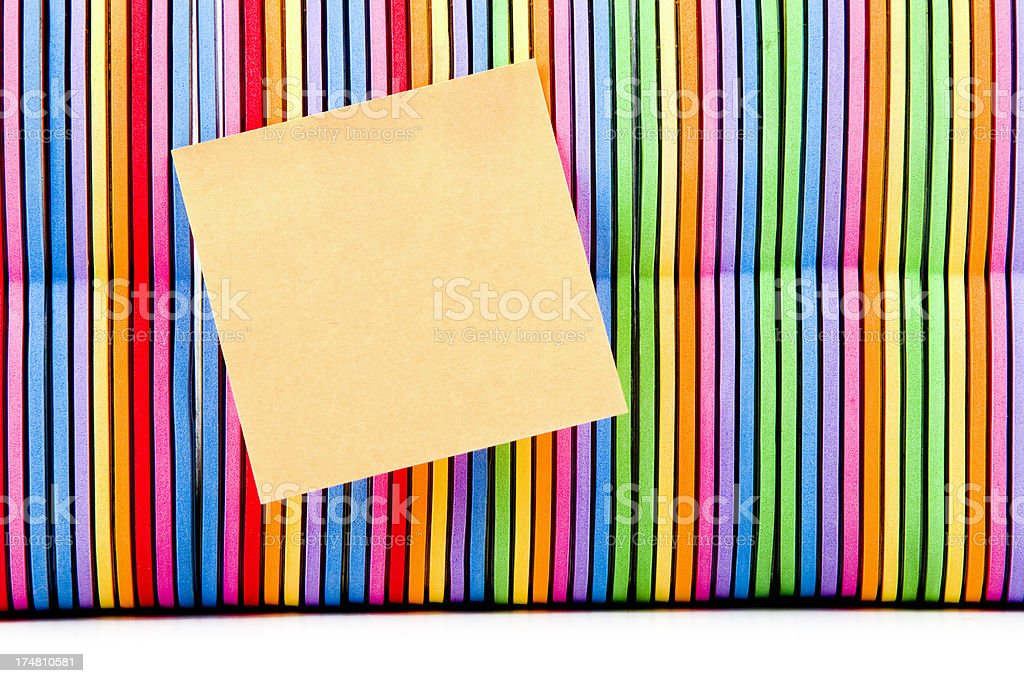 Books child multicolored note XXXL royalty-free stock photo