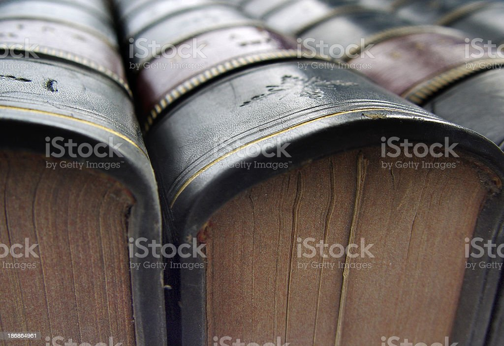 Books Close Up stock photo