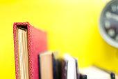 books close up