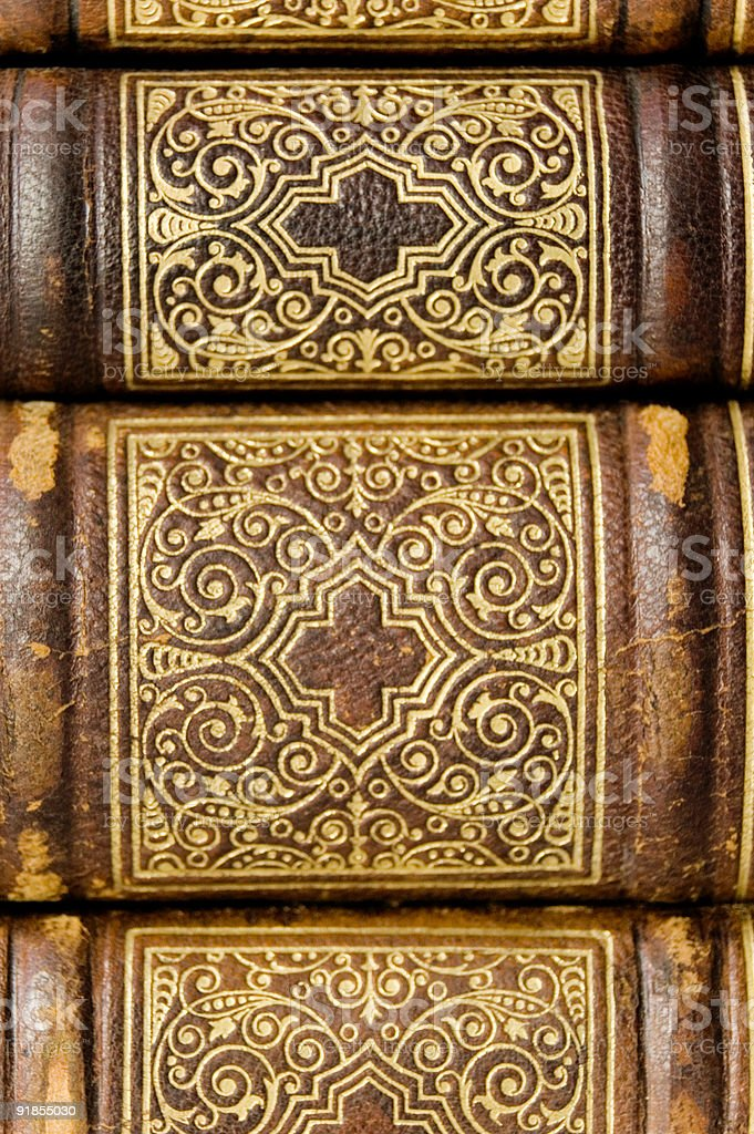 Books from the Past royalty-free stock photo