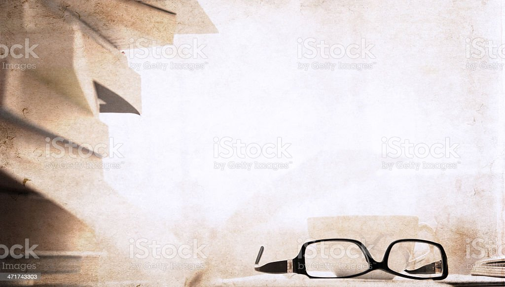 books  in the library royalty-free stock photo