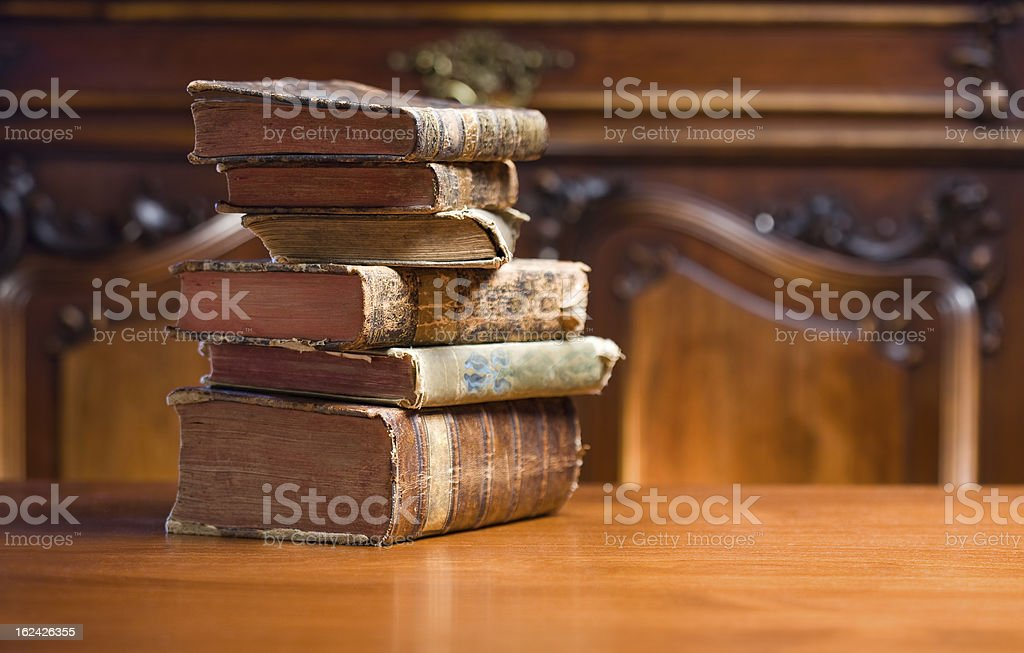 Books of mystery. royalty-free stock photo
