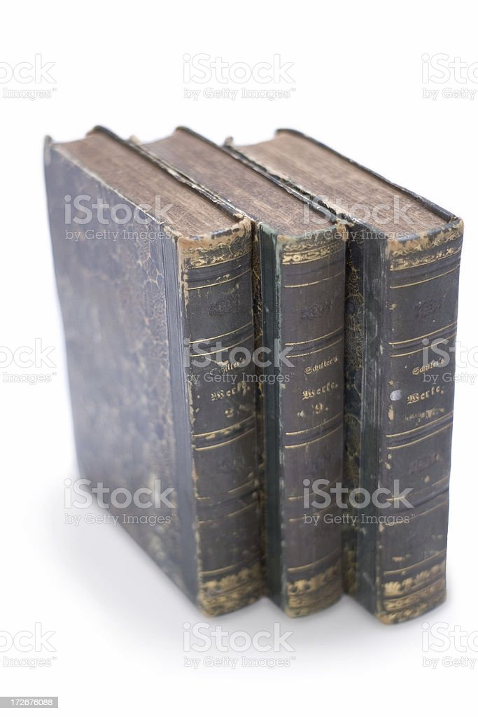 Books of Old stock photo