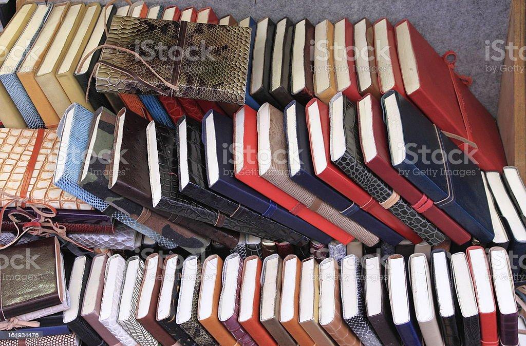 Books on shelf royalty-free stock photo