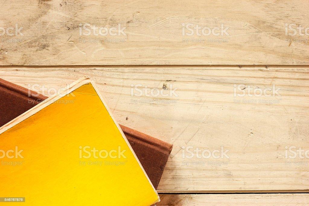 Books On The Desk. stock photo