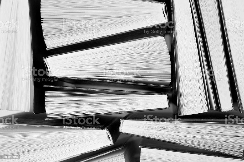 Books Pattern stock photo