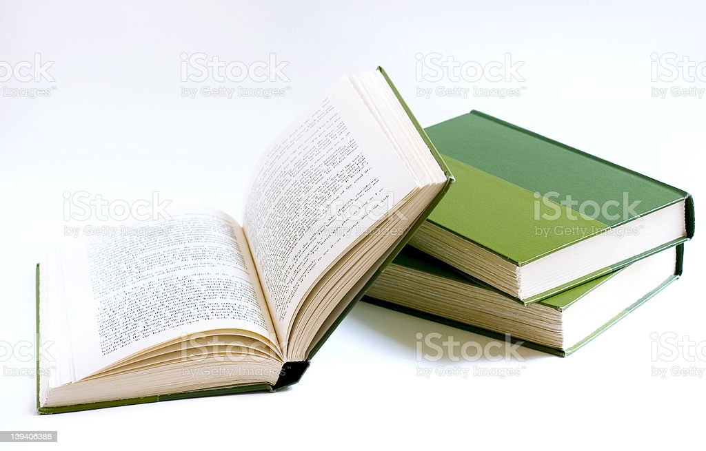 books (back to school) stock photo
