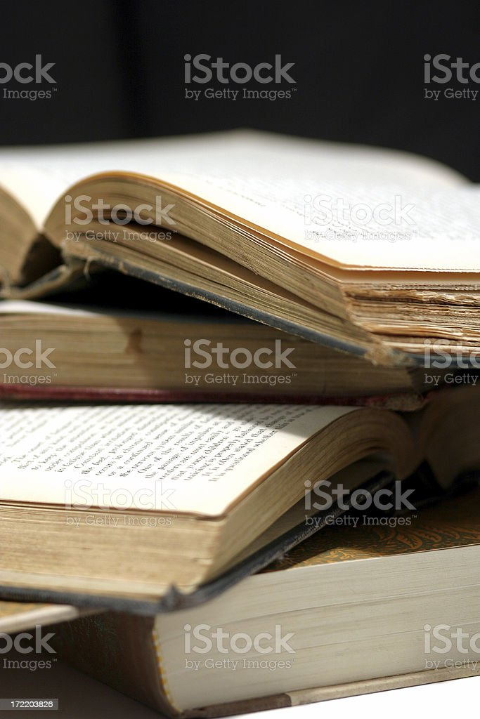 Books. royalty-free stock photo