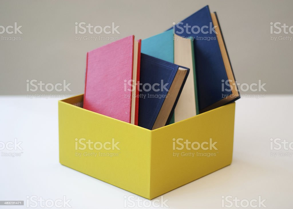 Libri royalty-free stock photo