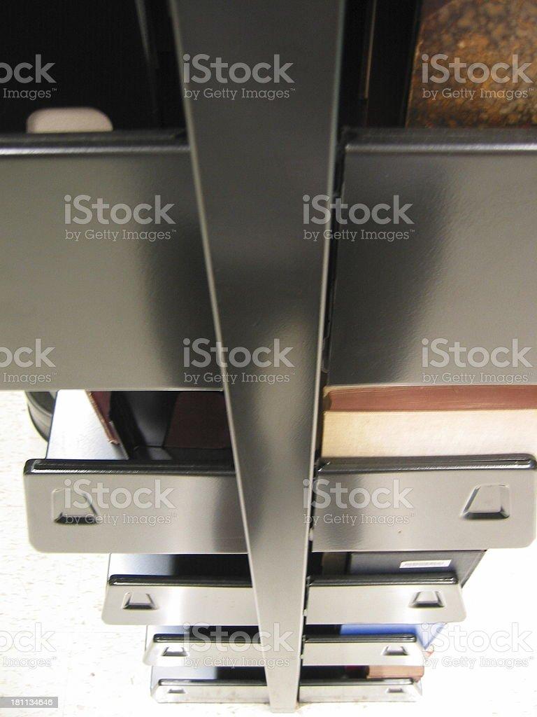 Books - Shelves royalty-free stock photo