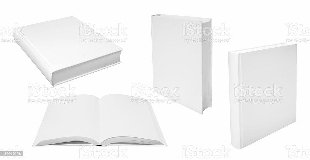 Books template stock photo