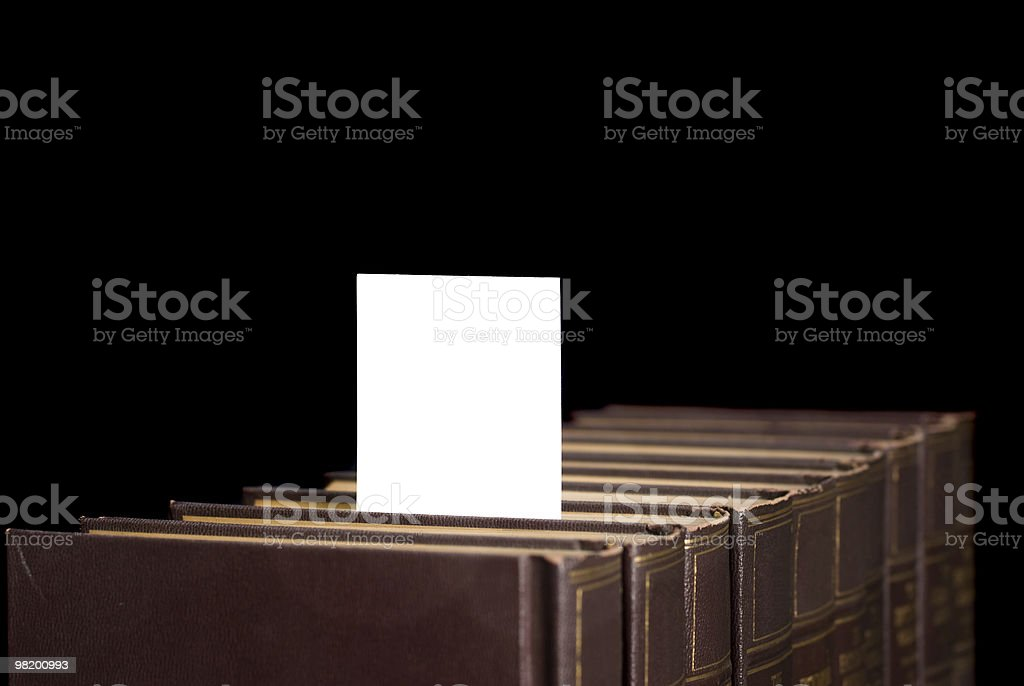 Books with copy space royalty-free stock photo