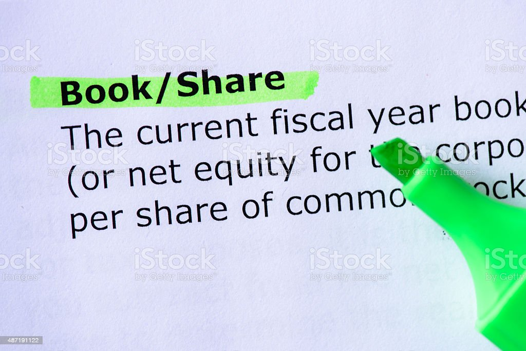 Book/Share stock photo