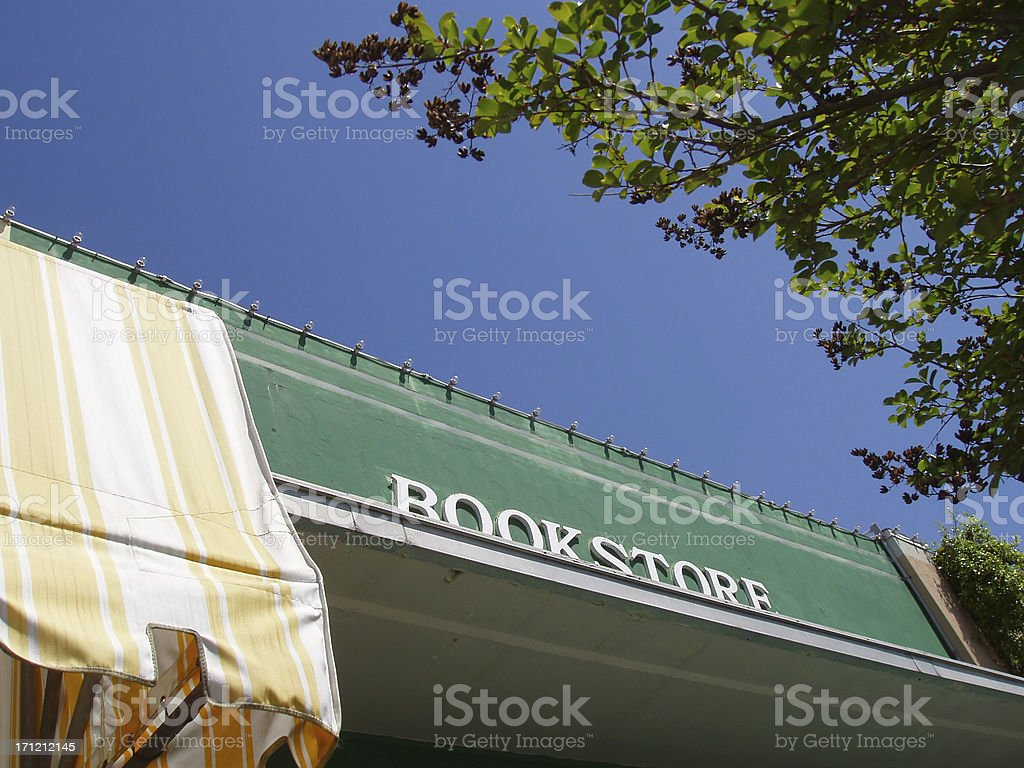 Bookstore - Storefront royalty-free stock photo