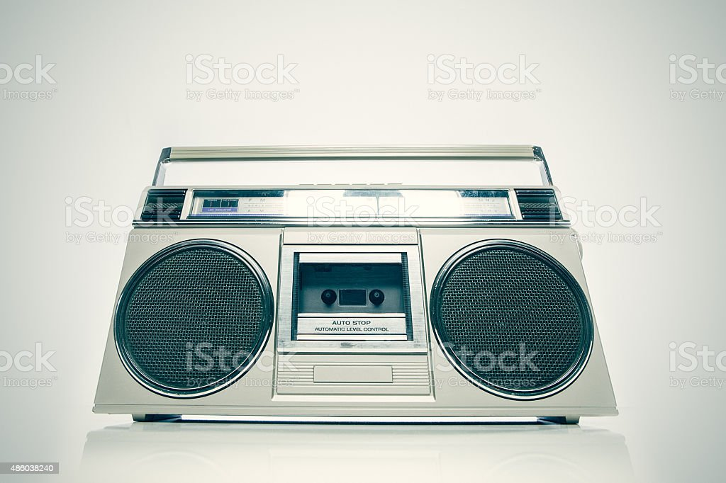 Boom Box Stereo stock photo