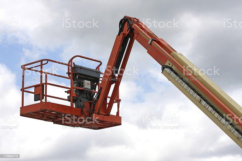 Boom Lift royalty-free stock photo