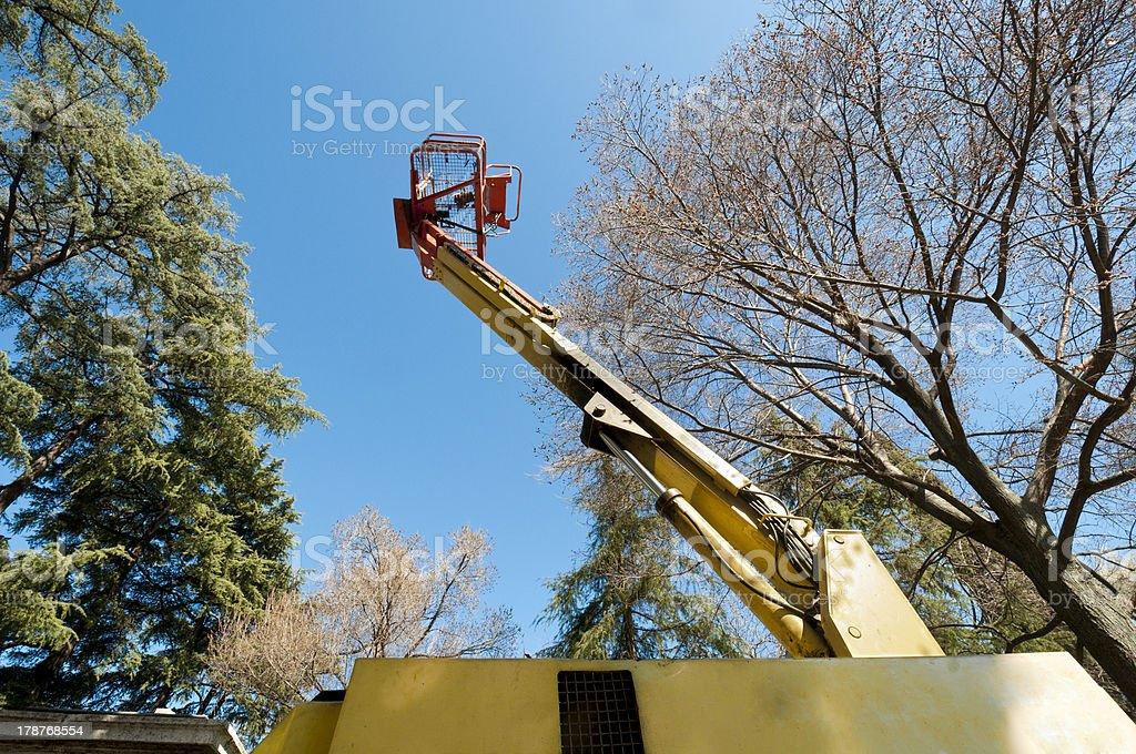 Boom Lift stock photo