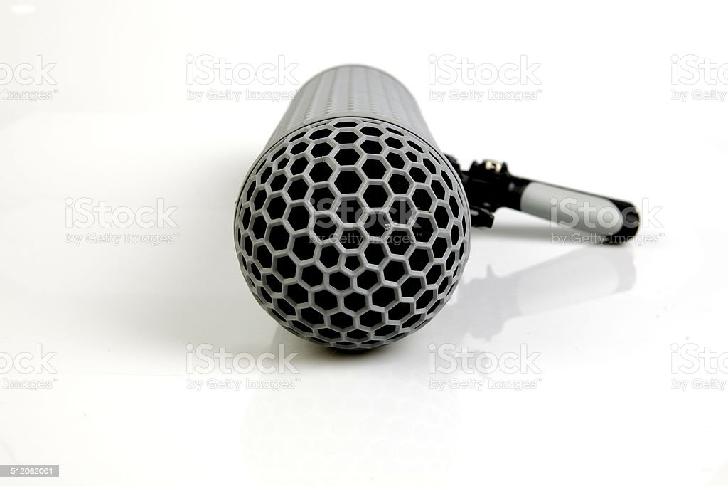 Boom Microphone stock photo