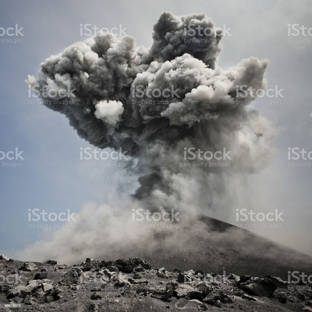 boom! royalty-free stock photo