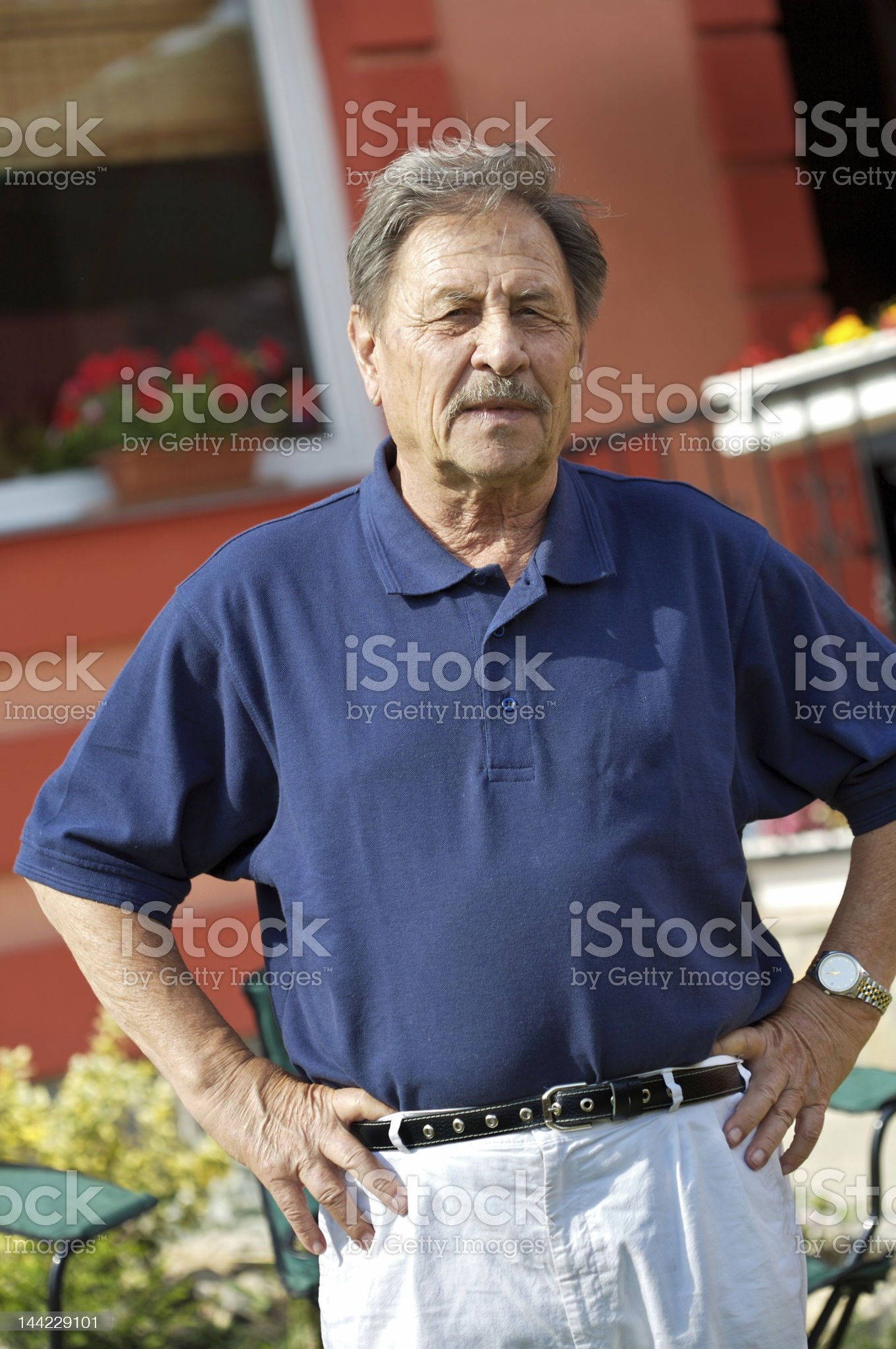 Boomer royalty-free stock photo