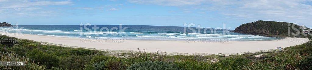 Boomerang Beach, Australia stock photo