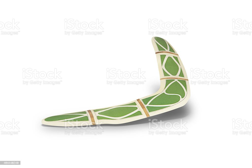 boomerang royalty-free stock photo