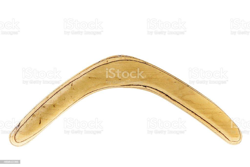 Boomerang royalty-free stock photo